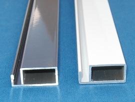 Rahmenprofil 25 x 11 mm á 125 cm