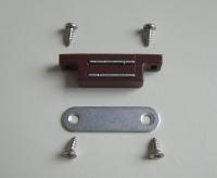 Magnetschließer in weiß oder braun